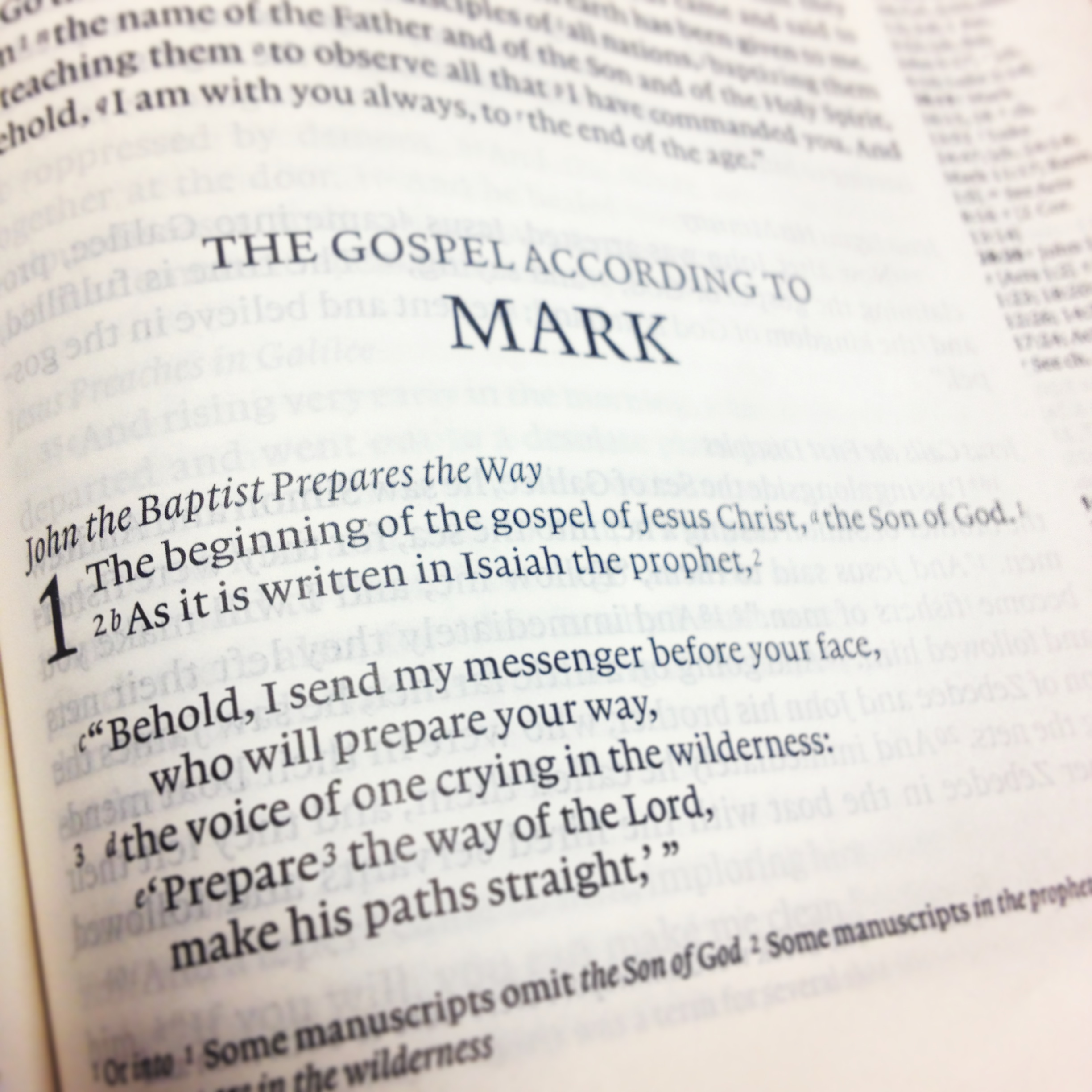 review the gospel according to mark The gospel according to mark is the seventh volume published in the pillar new testament commentary series edited by d a carson the series is aimed primarily at pastors and teachers of the bible and thus has the goal of elucidating, in the most straightforward manner, the biblical text in its canonical form.